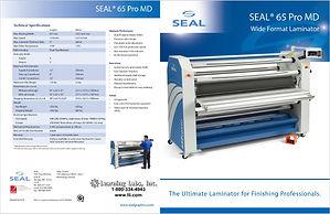 SEAL 65 Pro MD Laminator brochure