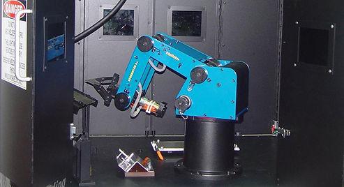 intelitek robotics scorbot er 4u welding robocell automated