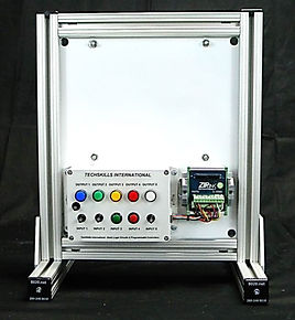 tech skills international Basic Logic Circuits and Programmable Logic Controlers, Table Top Mounting Frame