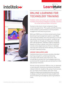 LearnMate online course catalog