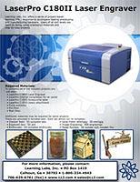 Tech Ed Concepts/LaserPro c180 laser engraver project tutorial