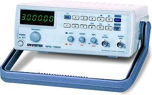 gw instek sfg 1003 mhz dds function generator