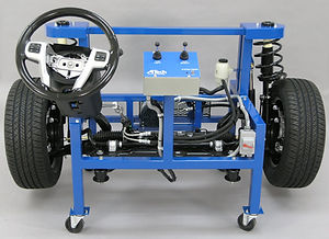 ATech Model 500 Suspension and Steering System Trainer