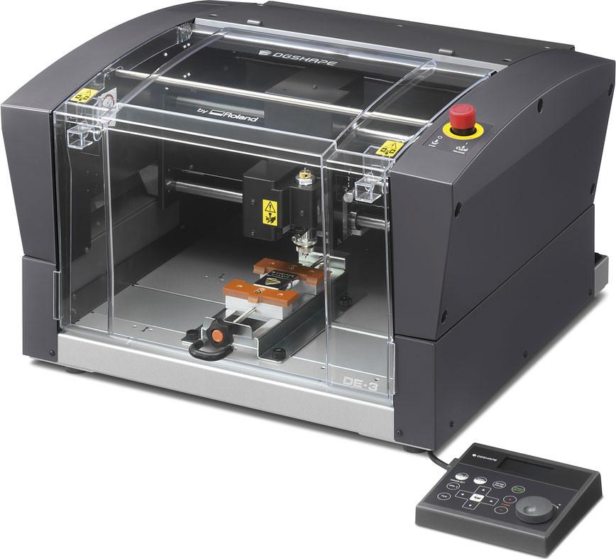 Roland DG DE-3 DGSHAPE desktop rotary engraver