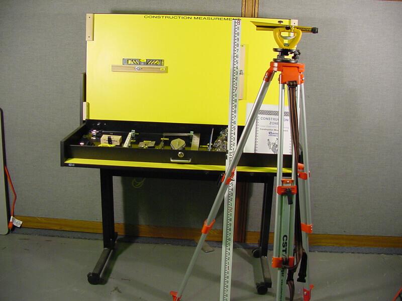 Construction measurement workstation