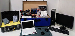 Contents of the Marcraft Digital Forensics course