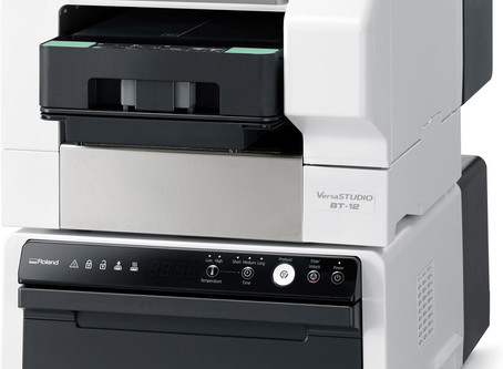 Product Focus:  Roland BT-12 Direct-to-Garment Printer