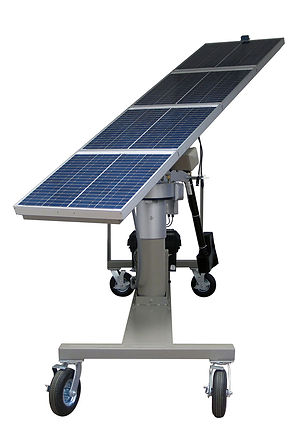 Hampden Mobile Solar Array with Solar Tracking System