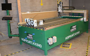 Forest CNC's HISPRO heavy duty CNC router