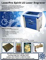 Tech Ed Concepts/Laserpro Spirit LS laser engraver project tutorial