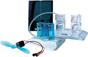 Horizon Educational Solar Hydrogen Science Kit fuel cell sun electrolysis electronics