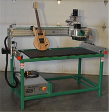 Forest CNC's LuthierMax Series of guitar making CNC routers