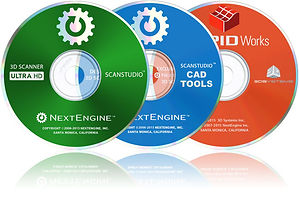 NextEngine's ScanStudio CDs