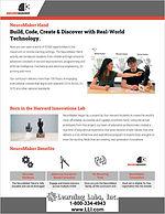NeuroMaker STEM Hand flyer cover