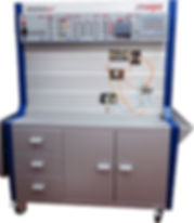Intelitek JobMaster Training Station for Fluid Power hydraulics pneumatics