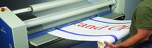 SEAL top heat assist wide format laminators