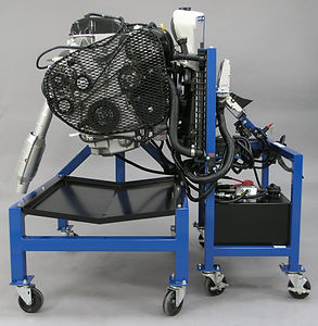 ATech Model 90 Engine Repair Trainer Shown with optional Start Cart