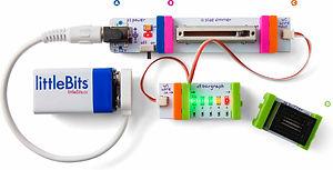 littleBits circuit input output power wire bit