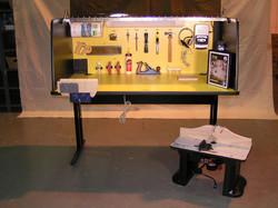 Cabinetmaker workstation