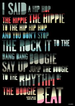 I said a hip hop