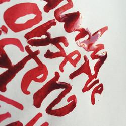 traces rouges