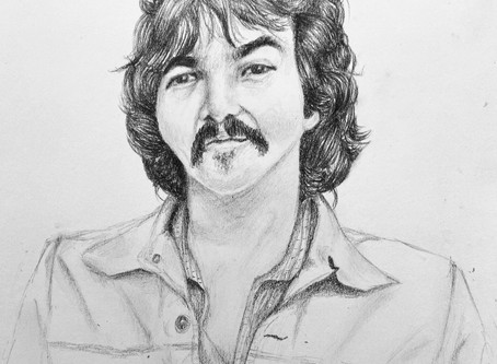 We Will Miss You John Prine by Addison Pozzi, Artwork by June Kolentus