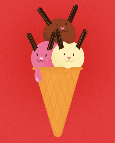 Icecream Bunnies
