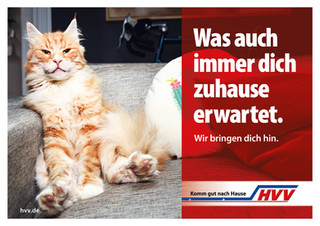 """Campaign for HVV """"Was auch immer…"""""""