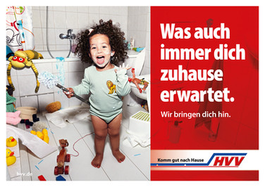 """Campaign for HVV """"Was auch immer …"""""""