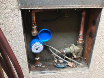 Water Meter Install