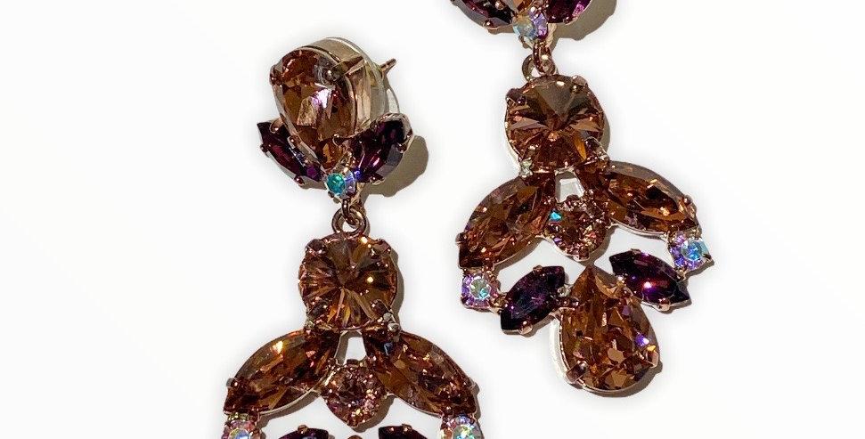 Bronze Sand - Swarovski Crystals