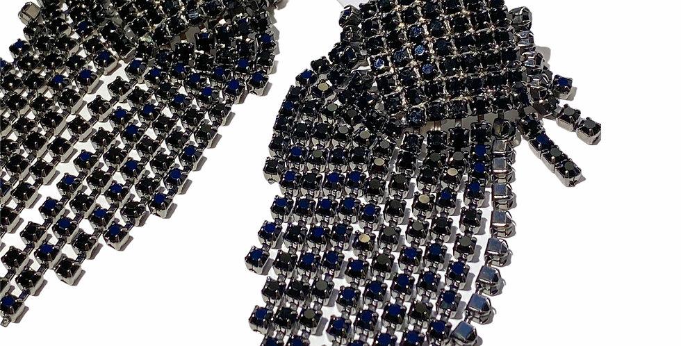 Disco Black - Swarovski Crystals