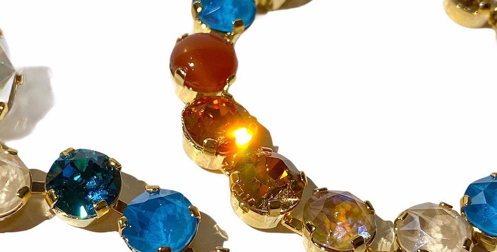 Coral Bay - Swarovski Crystals