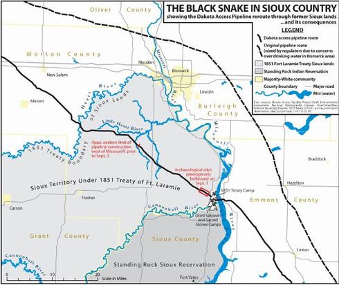 Dakota Rural Action Opposes DAPL Permit Approval