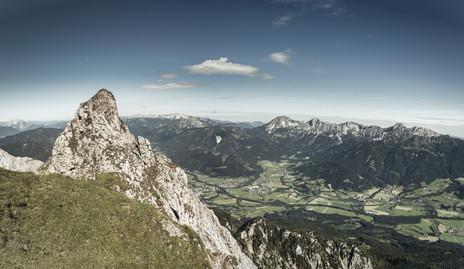 Panoramic View to Admonter Basin