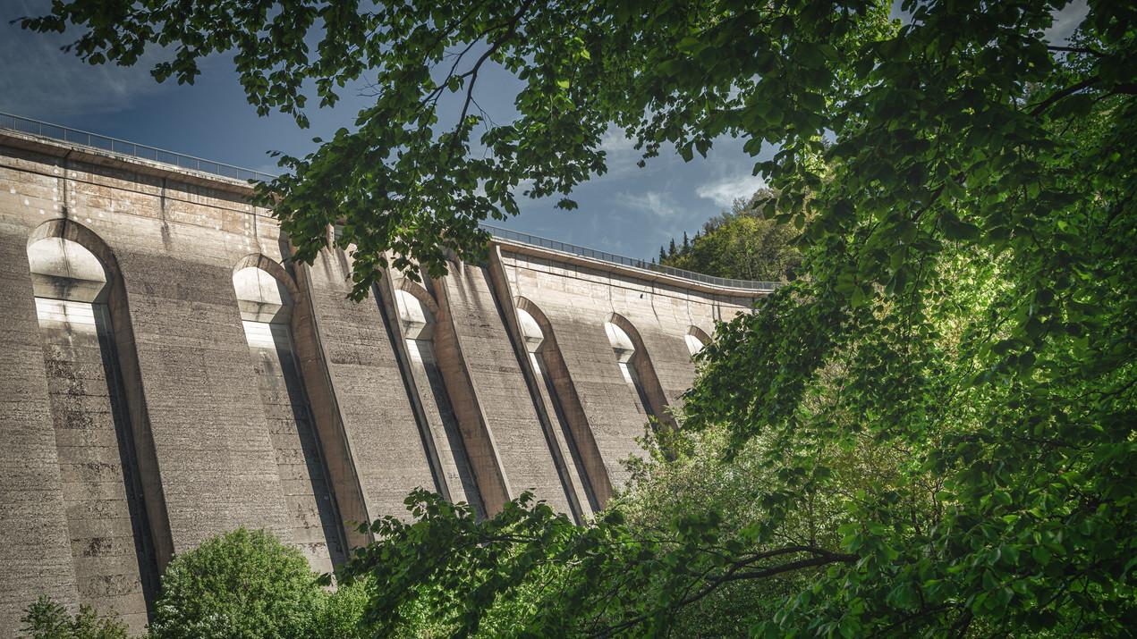 Olef Dam   Eifel National Park