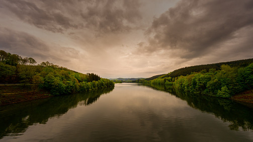 Lister Reservoir   Sauerland