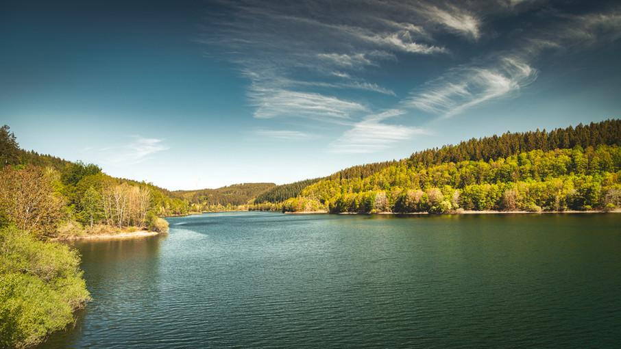 Olef Reservoir   Eifel National Park