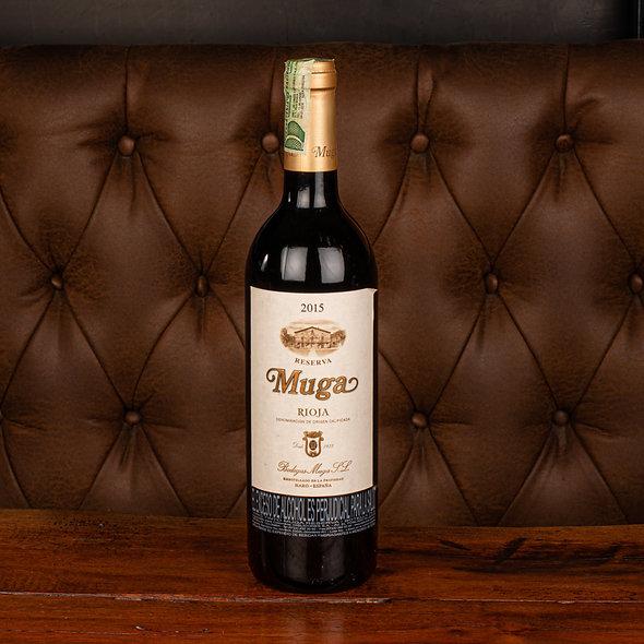 Vino Muga reserva tempranillo cabernet  2015 Botella (750 ml)