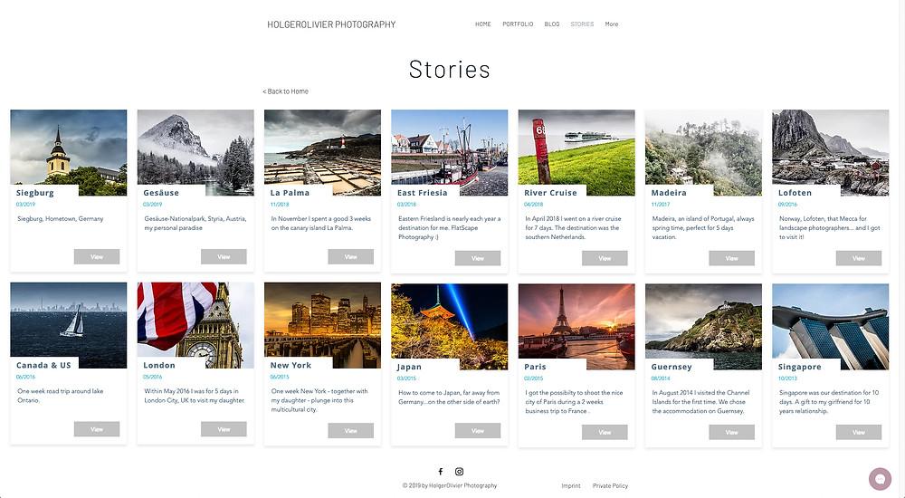 HolgerOlivier Photography | Stories