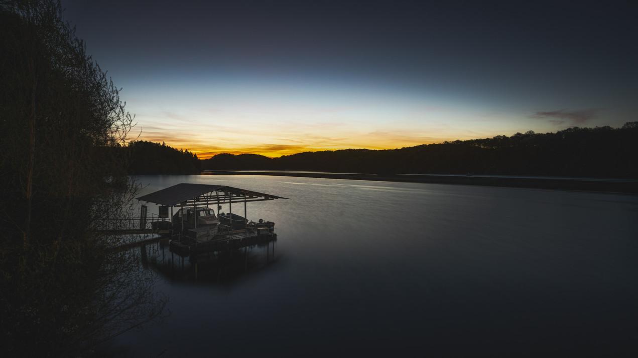 Wahnbach Dam   Sunrise
