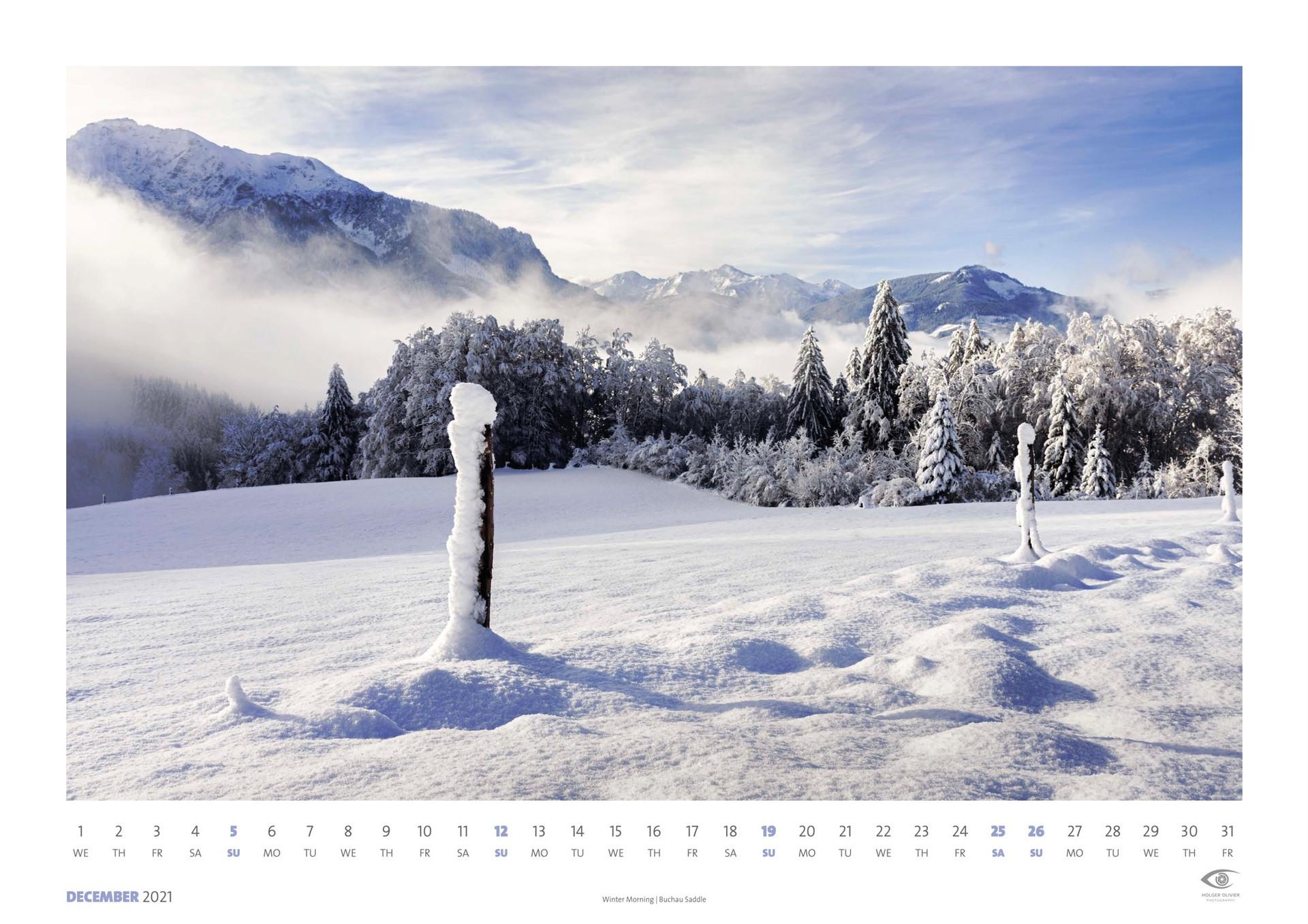 Calendar 2021 | December