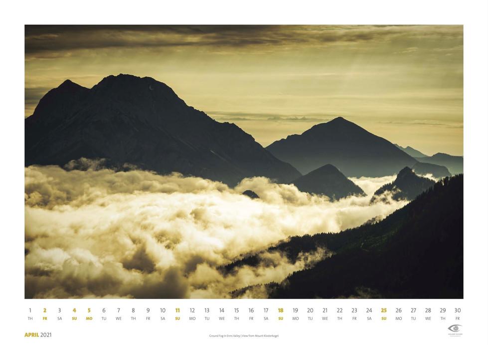 Calendar 2021 | April