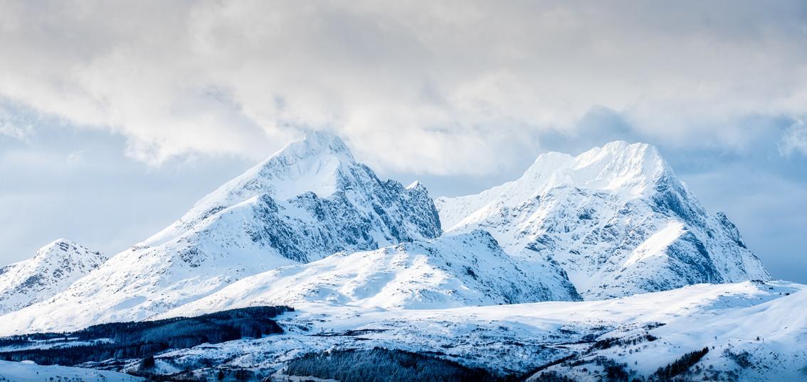 Mountains at Ytterpollen