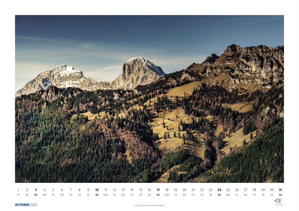 Calendar 2021 | Ocober