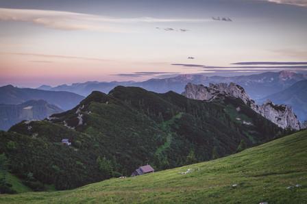 Scheiblegger High Alp  & Mount Hahnstein
