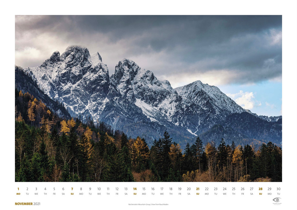 Calendar 2021 | November