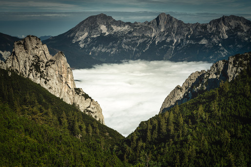 Scheiblegger High Alp North View