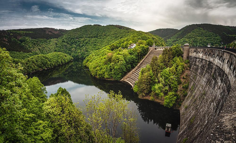 Urft Dam | Eifel National Park | HolgerOlivier Photography