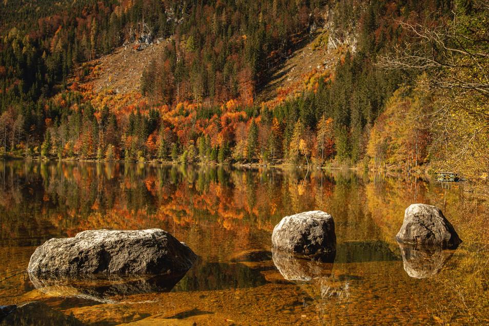 Rocks at Öden Lake
